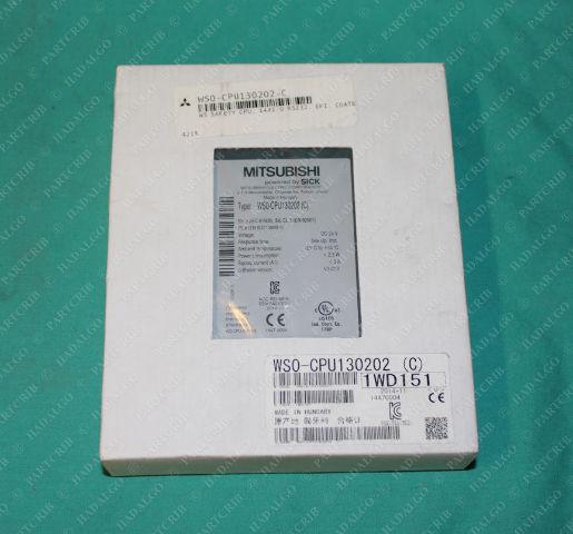 Mitsubishi, WS0-CPU130202, Safety Controller Relay CPU