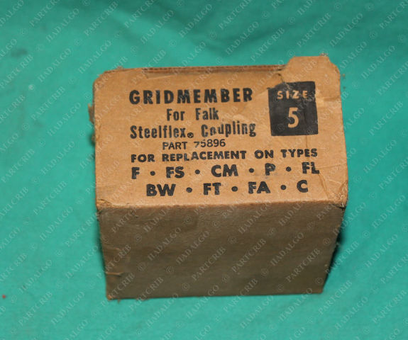 Falk, 75896, Gridmember Steelflex Coupling Size 5 Flexible