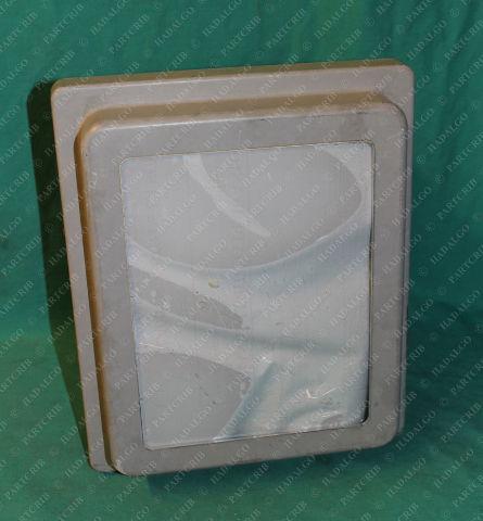 Allied Moulded, LR89590, AM1086RTLW, Enclosure Window Clear Plastic Fiberglass Waterproof