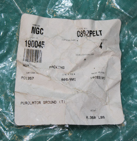 Graco, 190045, Nut Packing