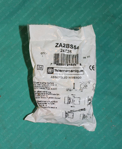 Telemecanique, ZA2BS54, Pushbutton Operator Emergency Push Pull Twist Button Switch