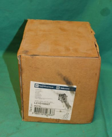Telemecanique, LC1D150G7, Contactor Starter Relay 100hp 150a 120V Schneider Eaton