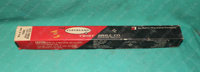 """Cleveland, No.4 TS, 940, Cle-Forge High Speed Drill 1 15/32"""" 1.4688"""" USA"""