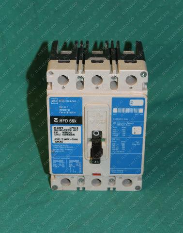 Cutler Hammer, HFD3045, Circuit Breaker 600VAC 45A 45 Amps