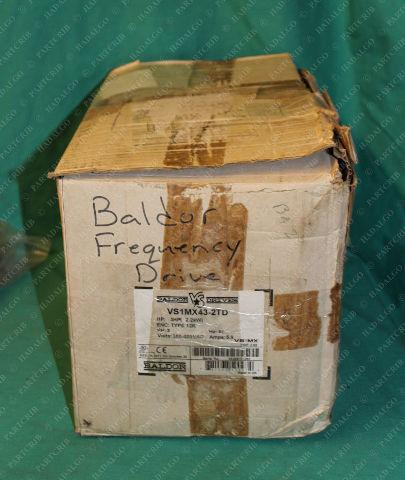 Baldor, VS1MX43-2TD, Drive 3HP VFD Amplifier Inverter 3PH 5.8A 380-480VAC