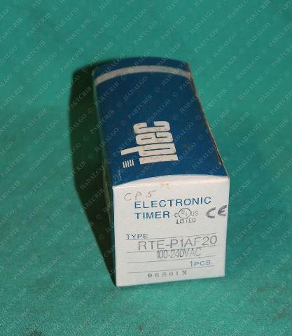 Idec, RTE-P1AF20, Electronic Timer 100-240VAC