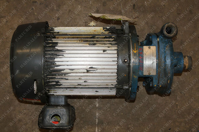 US Electrical Motors, U5E1DC, S662A,  3PH Motor w/ Ingersoll 1.25X.75X6 2000 Pump