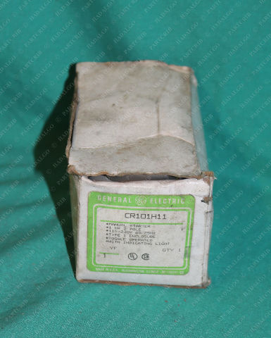 GE, CR101H11, General Electric Manual Starter Switch 1HP 2Pole