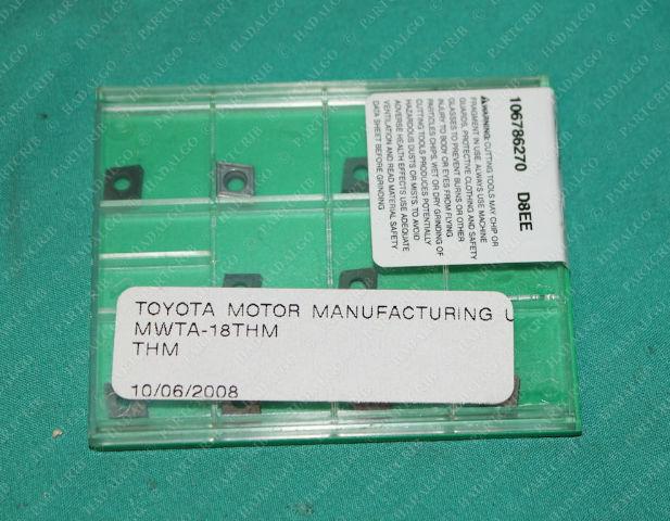 Widia, CCMT060204T, CCMT21.51T, 1 222 46 352, MWTA-18THM, Carbide Insert Box of 10