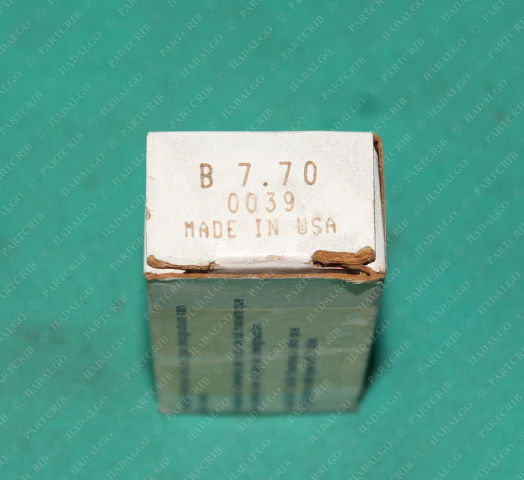 Square D, B7.70, Thermal Heater Overload Motor