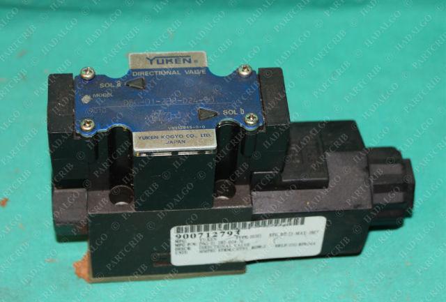 Yuken Kogyo, DSG-01-2B8-D24-50, Hydraulic Solenoid Directional Valve