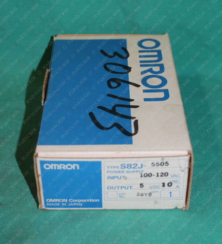Omron, S82J-5505, Power Supply 100-120VAC OEM
