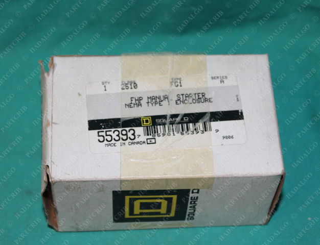 Square D, 2510 FG1, 2510FG1, Manual Starter Wall Switch