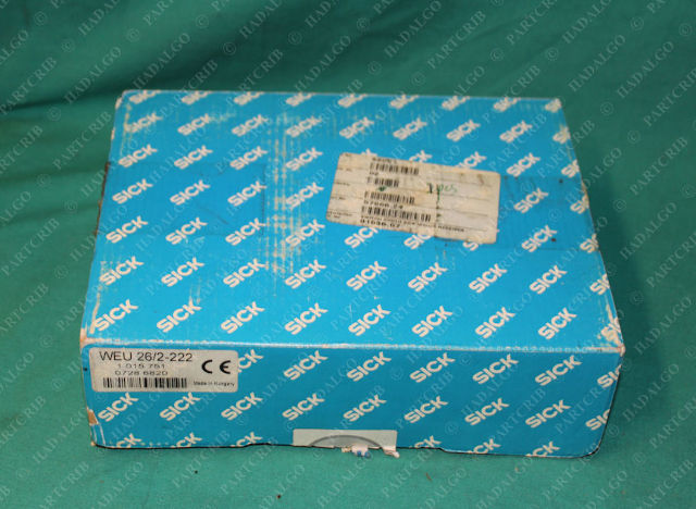 Sick, WEU 26/2-222, 1 015 751, WEU262222, Photoelectric Safety Switch