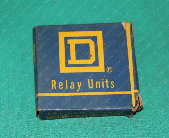 Square D, B22, Relay Heater Motor Starter Overload 2 Per Box