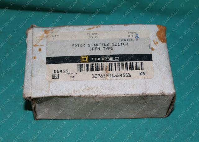 Square D, 2510 KO-2, Motor Starting Switch Manual