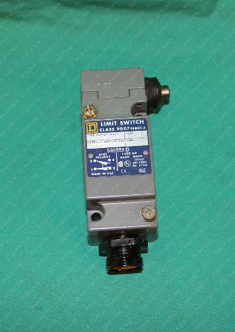 Square D, 9007 C54G, Button Limit Switch Heavy Duty