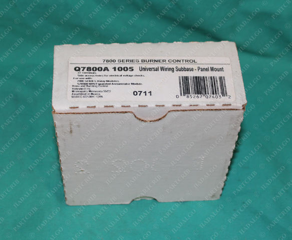 Honeywell, Q7800A 1005, Universal Wiring Subbase Panel Base Plate