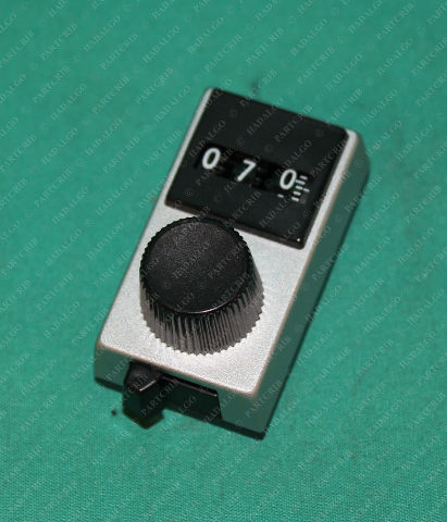 Spectrol,  Model 15, Multidial Counter Vishay Sfernice 15-1-11 Potentiometer Dial 3 Digit Display Analog Counter Counting