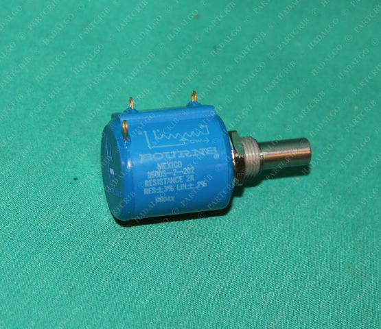 Bourns, 3500S-2-202, 2k Ohm 3% 2w Wirewound Potentiometer Pot