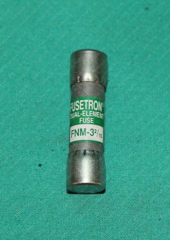 Bussmann Fusetron, FNM-3 2/10, Dual Element Fuse 3 2/10a 3.2a Buss Cooper
