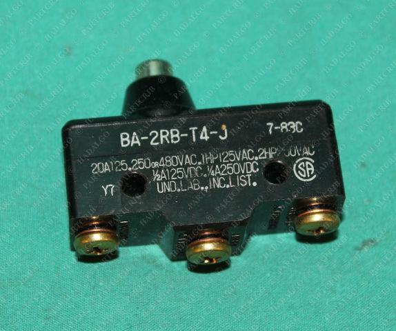 Honeywell, BA-2RB-T4-J, Basic Switch Micro Switch Limit Button