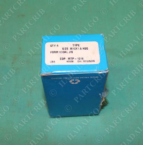 Greenfield GTD M10 X 1.5 RH7 Flute Tap HSS-E-MTP-1016 Form 10mm Plug Bottom cnc