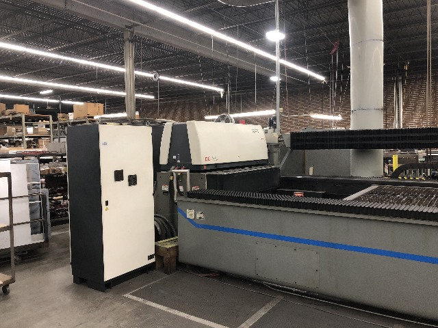 2002 Cincinnati Incorporated CL-707 Linear Motor Laser Cutting Cutter CNC System 3300 Watt 6' x 12'