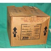 AC Tech Q14005B Variable Speed Motor Drive 5hp 460v 3p NEW