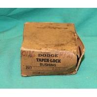 "Dodge 2517 Taper Lock Bushing 1-3/4"" KW 1.75"" NEW"