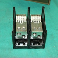 Gould Shawmut, 66552, Wiring Wire Power Distribution Block 2Pole 600V Ferraz Ilsco Mersen NEW