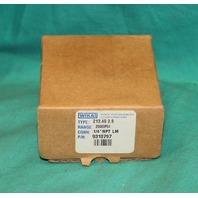 "Wika 310797 Type 213.40 2.5 Pressure Gauge 2000psi 1/4""NPT LM NEW"