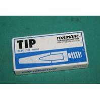 TokinArc Tip 1.2mm for MIG Welding Welder Weld 002 003 10/box Motoman Robot NEW