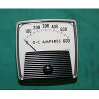 Yokogawa 250 Panel Meter 0-600 Amperes DCV 96J202 NEW