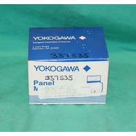 Yokogawa 254 Percent Tension Panel Meter 0-10VDC 0-100% 046441 RAM NEW