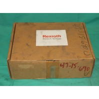Bosch Rexroth DPR 204-WRZ-E hydraulic amplifier NEW
