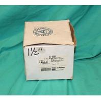 Appleton ST-90150 1-1/2 90Deg  Flexible Conduit Liquid tight Connector 2/Box NEW