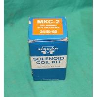 Sporlan MKC-2 Coil Assembly w/Junction Box 24V 50/60Hz NEW