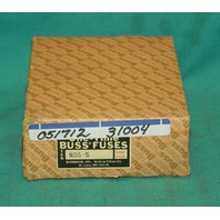 Buss NOS-5 One-Time Fuses 600V Box of 9 NEW