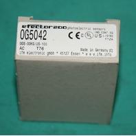 Efector 0G5042 0GS-00KG photoelectric sensor switch NEW