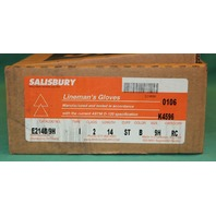 Salisbury Lineman's Gloves E214B/9H RC size 9H New