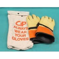Salisbury IPS-3S-11 12-Inch Leather Protectors Size 11 ILP-3S w/ Bag