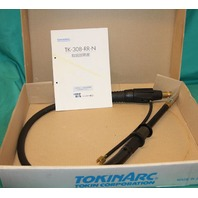 Tokinarc TK-308-RR-N Torch Assy Air Cooled Straight 1.0M Mig Welding robot NEW