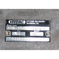 """Hydac Hycon 1"""" Ball Valve KHB-25NPT-131456 5000psi SS stainless NEW"""