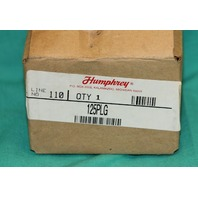 Humphrey 125PLG Palm Operated Valve Switch NEW
