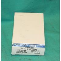 Ashcroft K15M0242B9200 Pressure Transducer 200psig 30801160 NEW