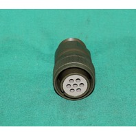 Amphenol Amp MS-3106SB-16S-1S Circular Connector Plug 7 Position Pin NEW