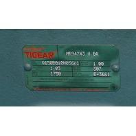 Dodge MR94743 Tigear C-Face Gear Reducer Q150B010M056K1 NEW