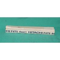 """Hitachi F4T5 Flourescent Lamp White 4W 5-5/16"""" NEW"""