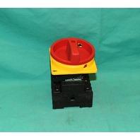 Klockner Moeller P3-63/V/SVB Disconnect Switch Enclosure handle Knob NEW